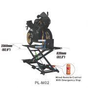 PL-M02 Motorcycle Platform Lift, Extra Long Motorcycle Lift ,ATV Lift