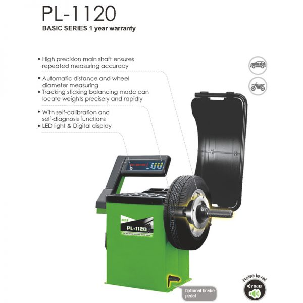 Wheel balancer PL-1200 Tire Balancer, Wheel Balancers and Wheel Weights