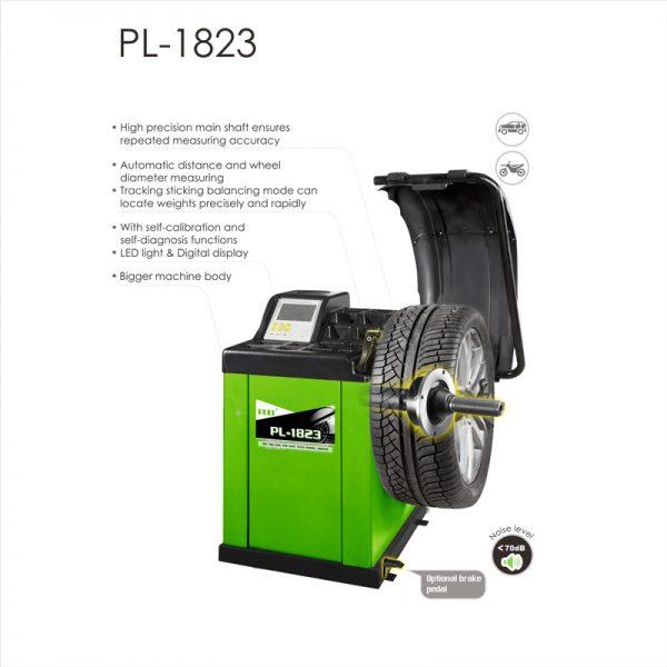 PL-1823 Self-Calibrating Computer Wheel Balancer