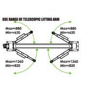 PL-4.0-2DE Overhead 8,800 lb Capacity 2 Post Lift