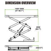 PL-E30L/ PL-E35L Small Platform Scissor Lift