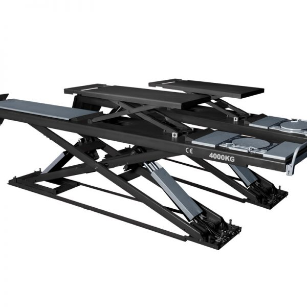 PL-S40 8,840 Lbs. Capacity Alignment Scissor Lift with Wheels-Free System