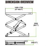 PL-E30 / PL-E35 Small Full Rise Scissor Lift