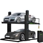 PL-PK201 Two Post Parking Lift 7,000-lb. Capacity Short Runways Extra-Wide, Extra-Tall Car Lift