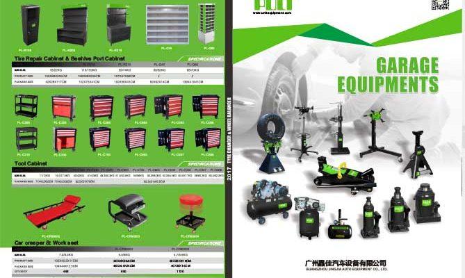 Automotive Equipment Catalog:PULI Garage Equipments Catalog 2019
