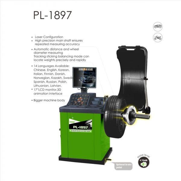 PL-1897 Self-Calibrating Computer Wheel Balancer