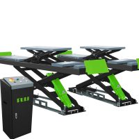 PL-Y35/PL-Y35D/PL-Y40/PL-Y45 Alignment Scissor Lift with Wheels-Free System